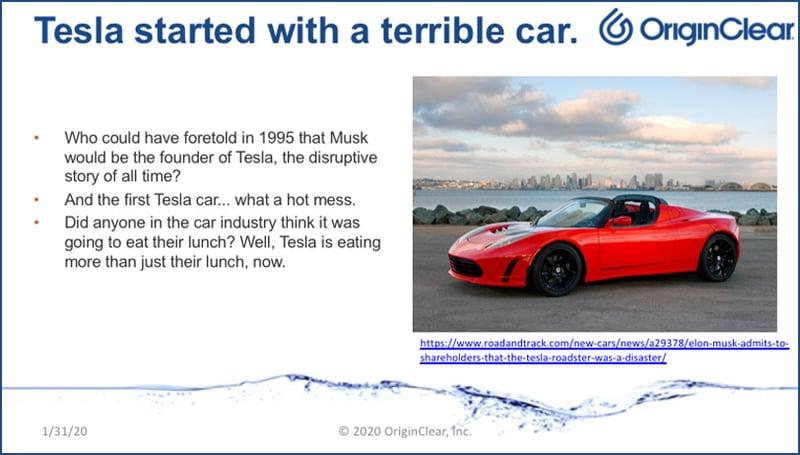 First Tesla