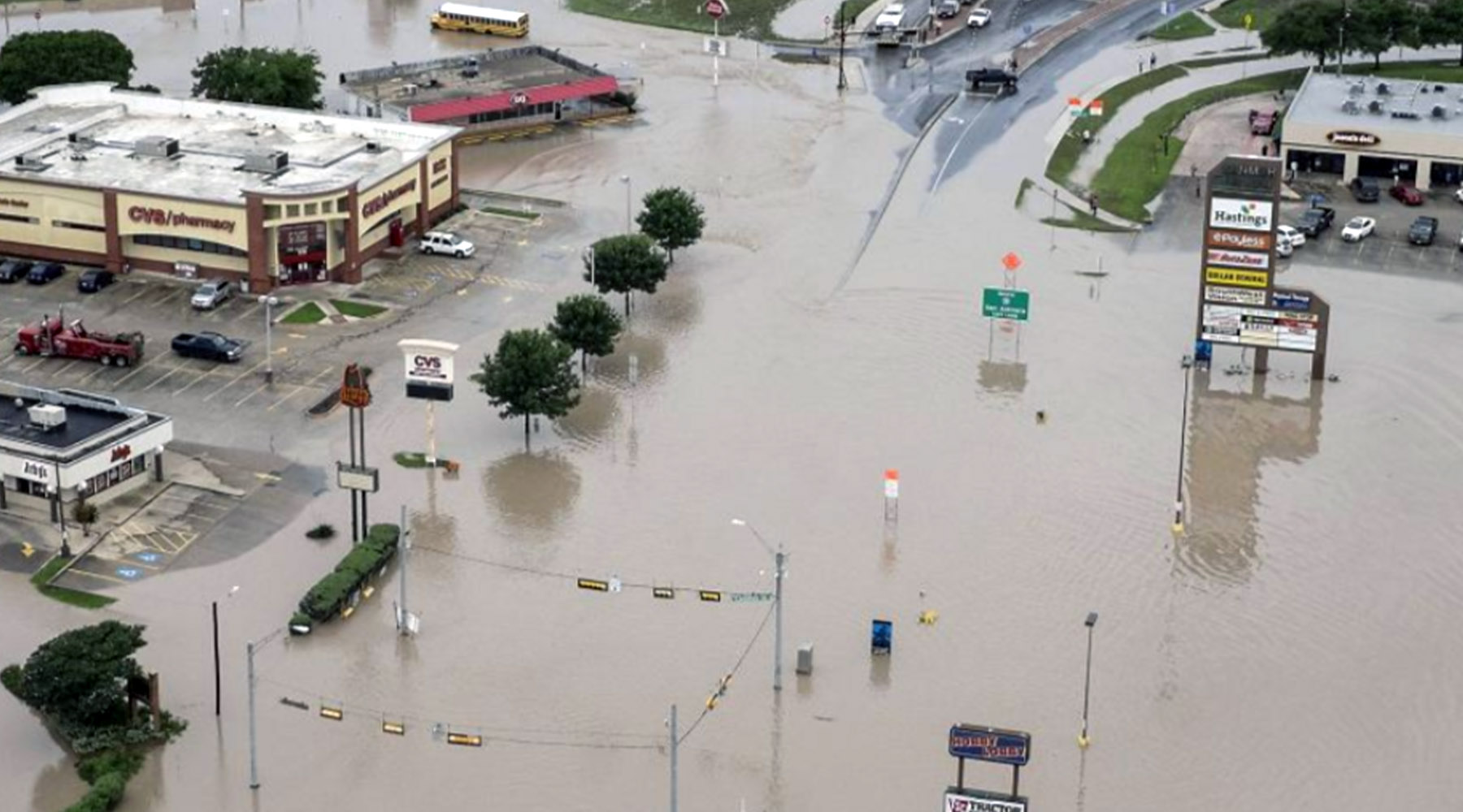 Oklahoma City Storm Waters