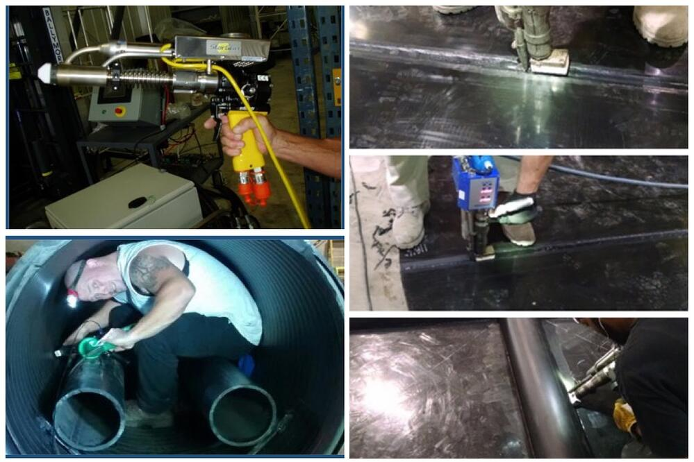 Extrusion Welding collage