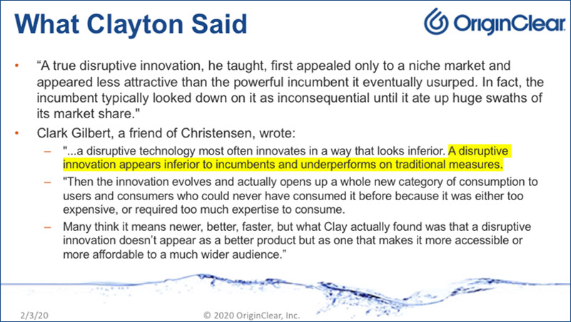 What Clayton Said