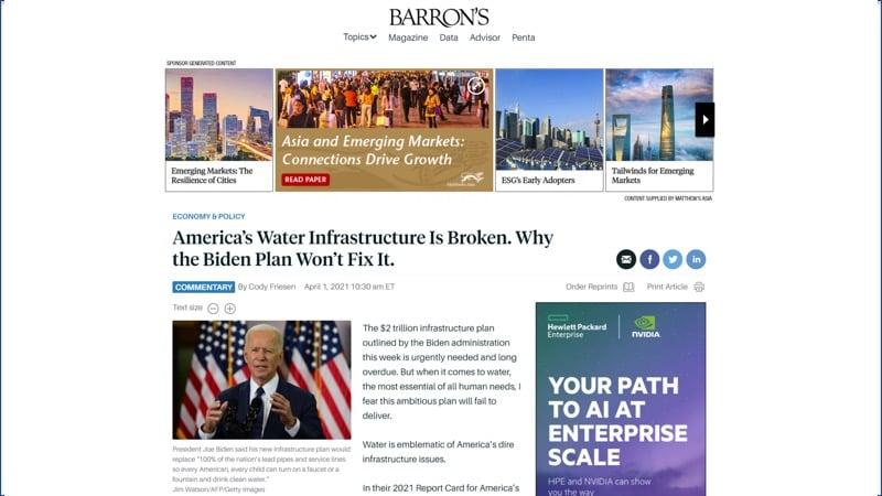 Barrons Biden article
