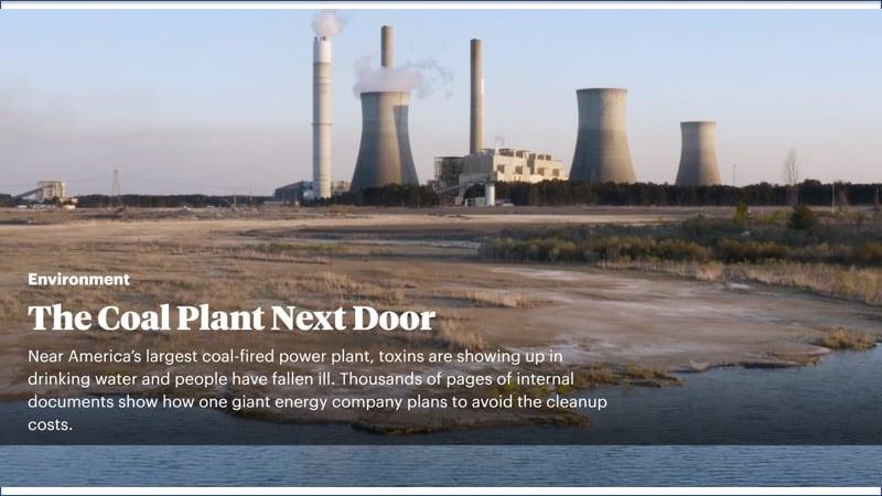 Coal plant story