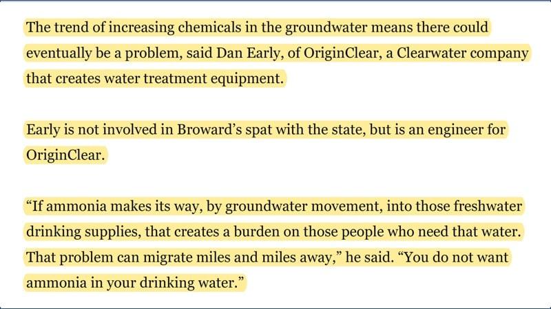 Dan Early Broward quote