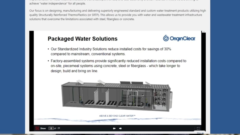 MWS packaged WWT solutions