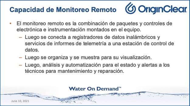 20210610 Remote Monitoring Capability Spanish