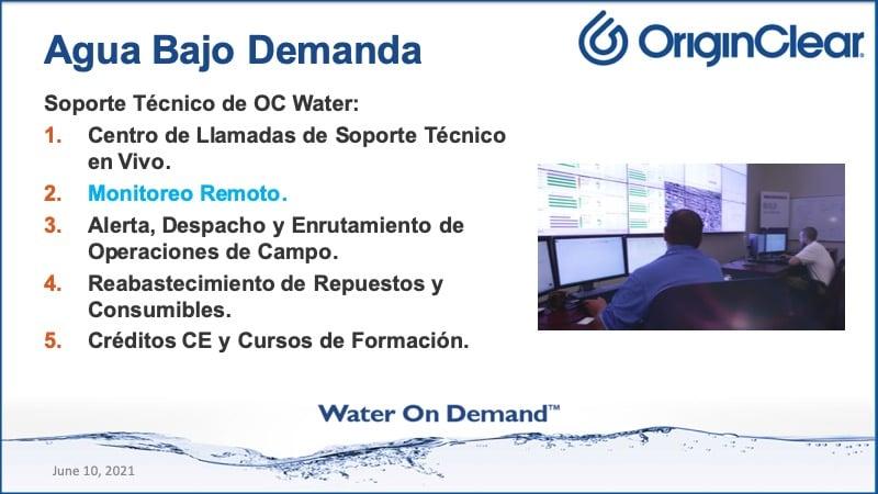 20210610 Water on Demand Spanish
