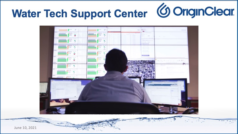 Water Tech support