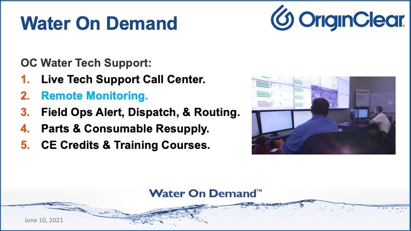 Water on Demand