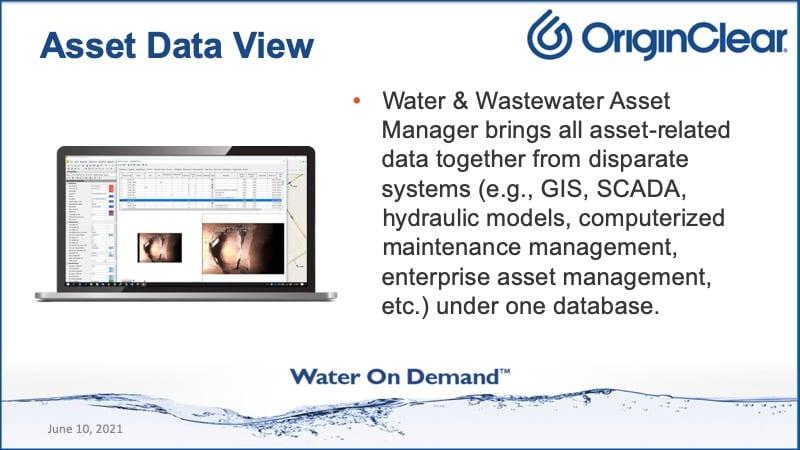 Asset Data View
