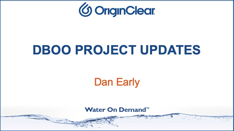 DBOO Project Updates