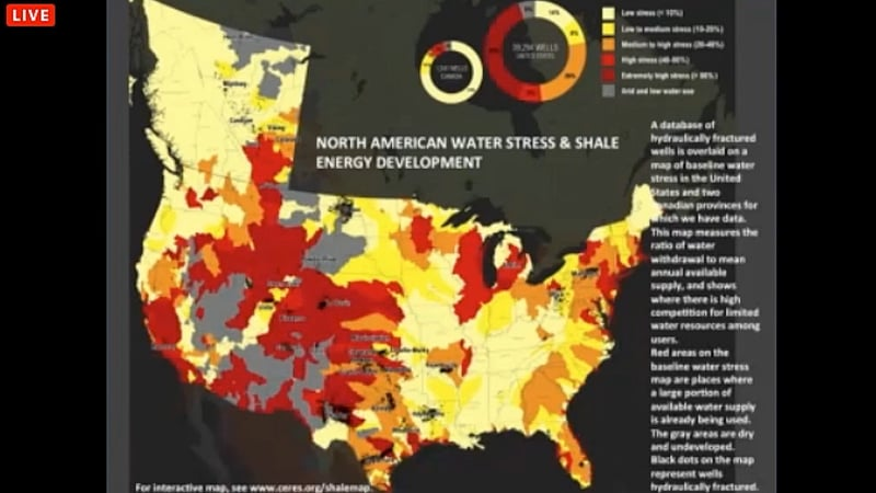 ARE Day stress and shale dev