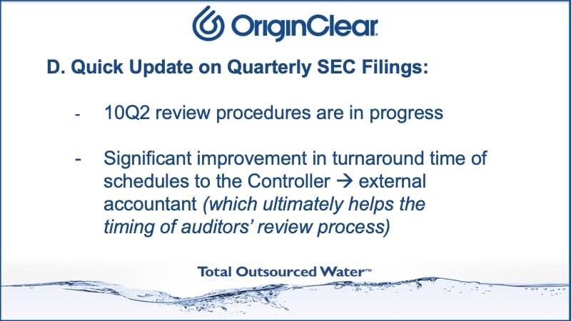 Prasad - quick Q update