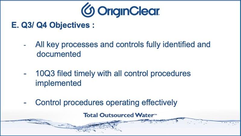 Q3 Q4 objectives