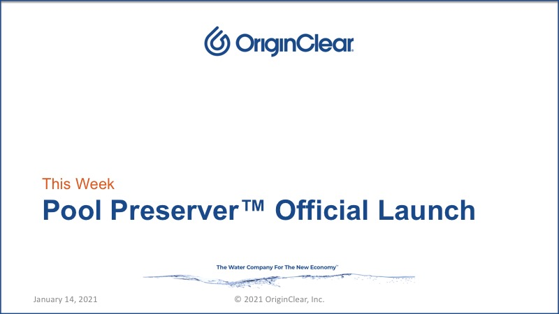 Pool Preserver Official Launch