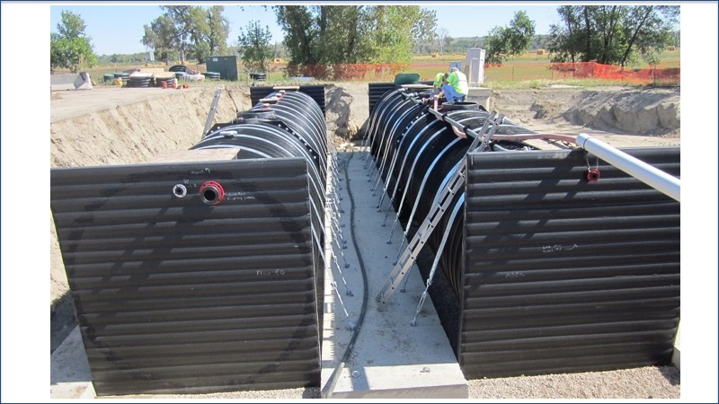 Modular Water system housed in SRTP piping