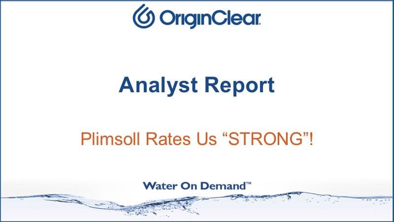 Analyst report Plimsoll