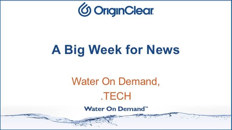 Big week for news
