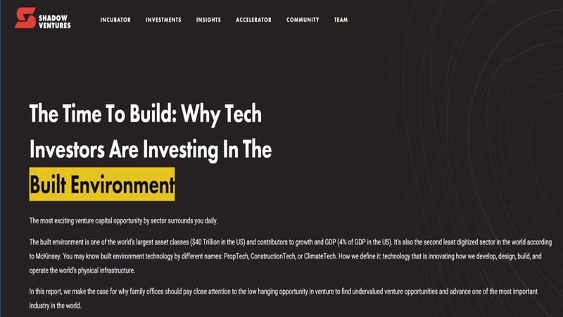 Built environment slide