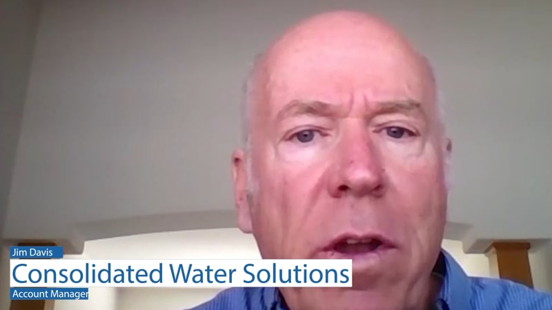 Jim Davis at Consolidated Water Solutions