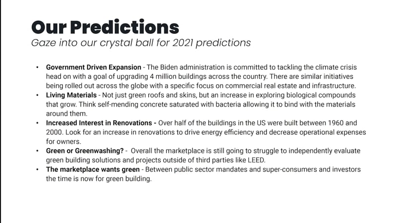 Our predictions - Shadow Ventures