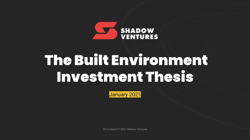 Shadow Ventures cover