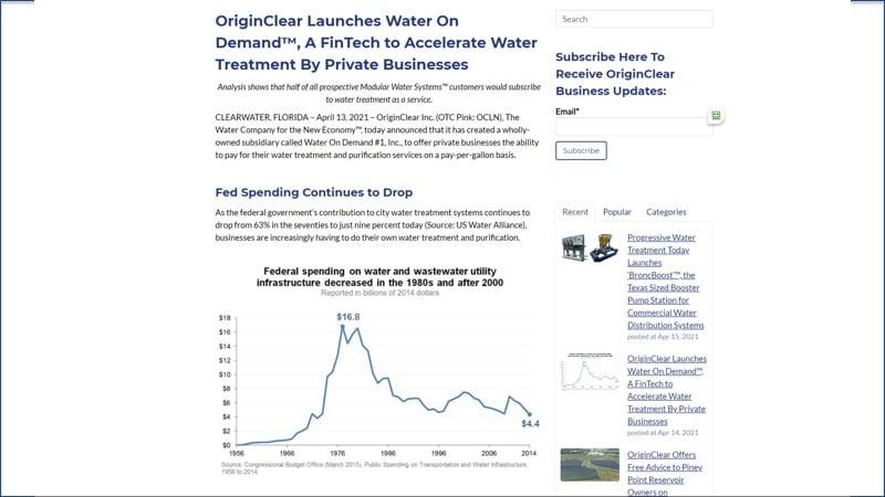 Water On Demand Apr 2021press release