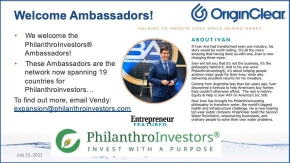 202107815 Welcome ambassadors