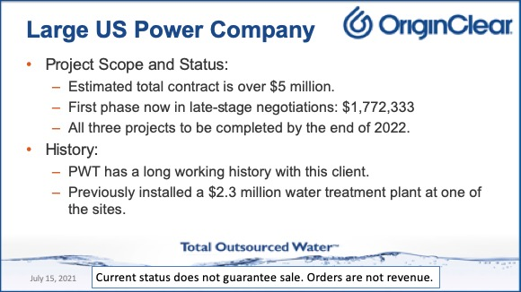 Large US Power Co 2