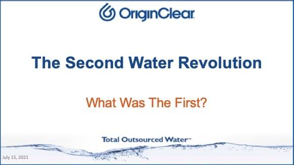 Second Water Revolution