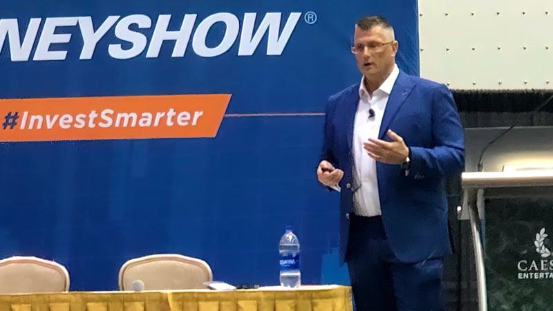 Ken presenting at Money Show-1