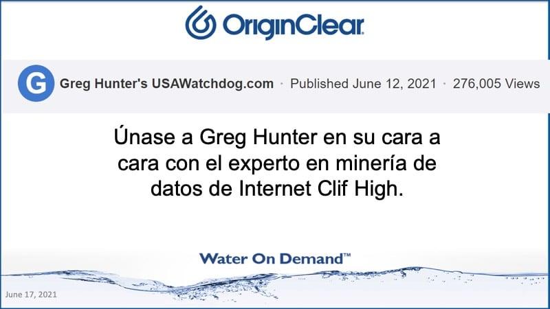 Greg Hunter y Clif High