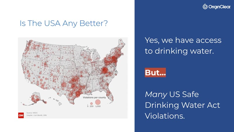 Safe Drinking Water Act violations