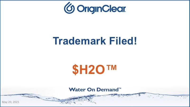 Trademark filed