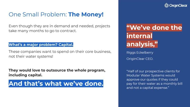 small problem - money