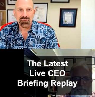21 Oct 21 CEO Briefing