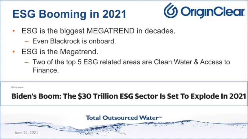 ESG Boom