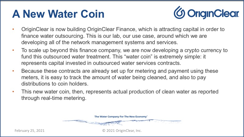 A new water coin