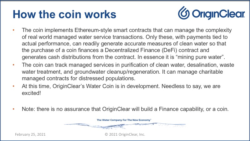 How the coin works