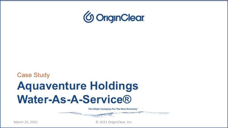 AquaVenture holdings - WAAS