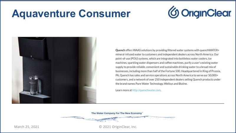 Aquaventure consumer