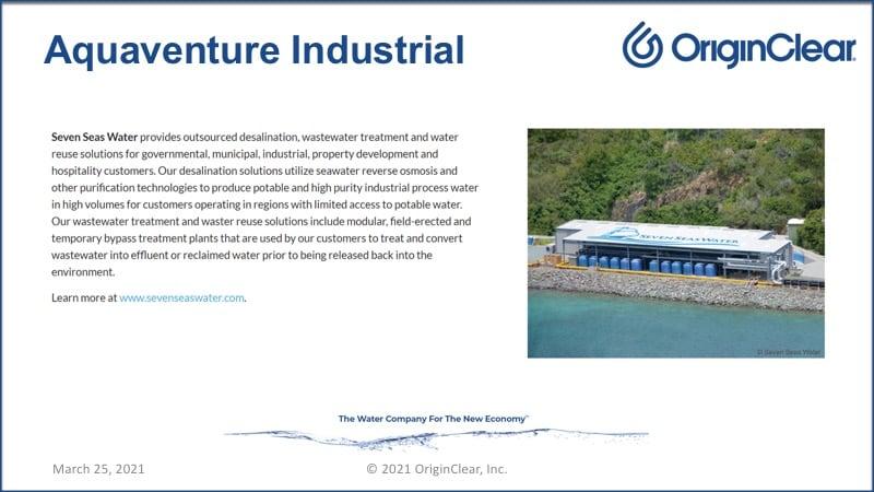 Aquaventure industrial