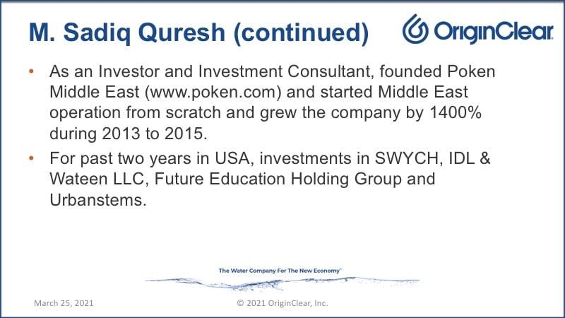 M Sadiq Qureshi continued
