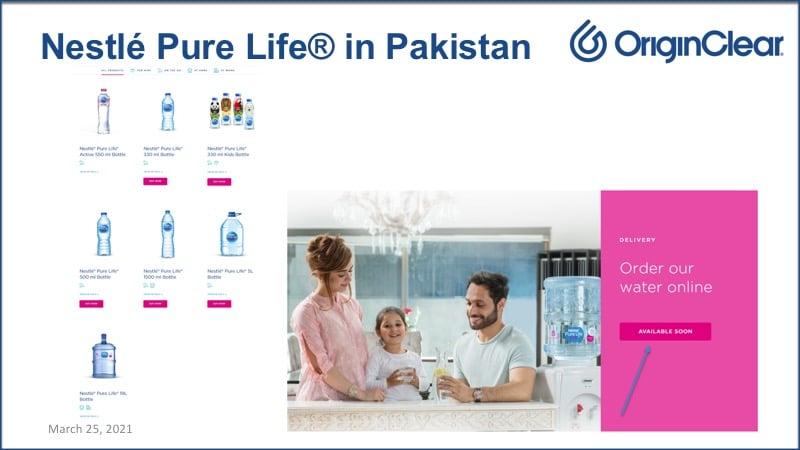Nestle in Pakistan