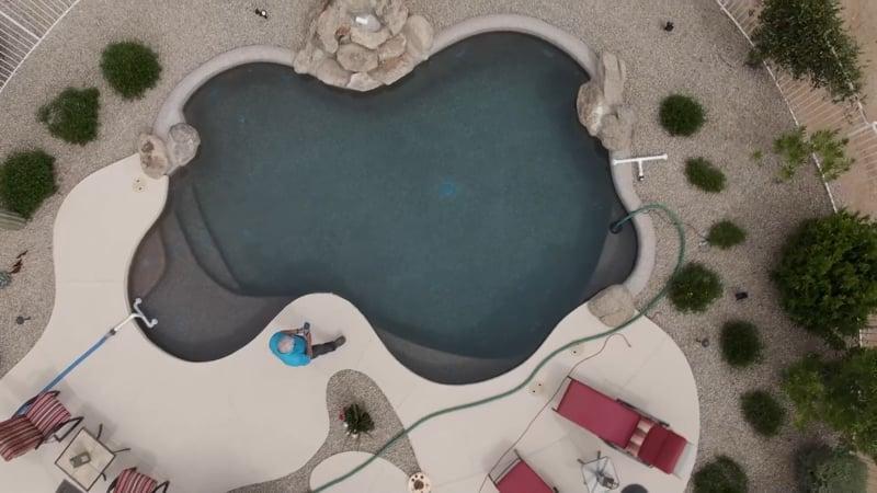 Pool Preserver - satelite pool view