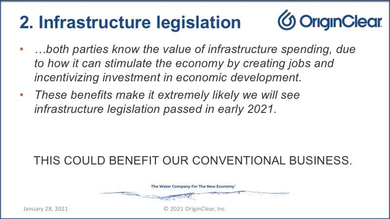 Infrastructure legislation