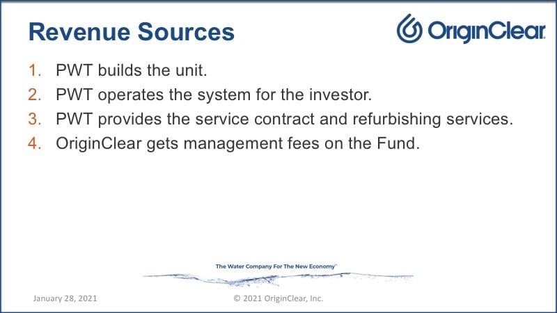 Revenue sources