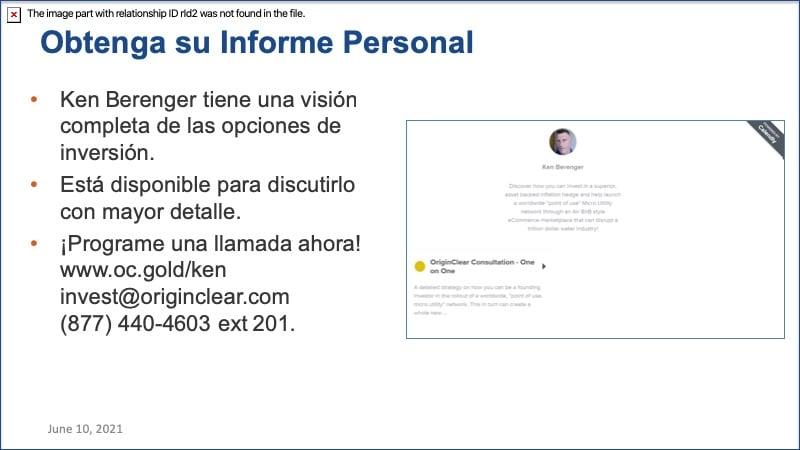 CEO Briefing Spanish Call Ken