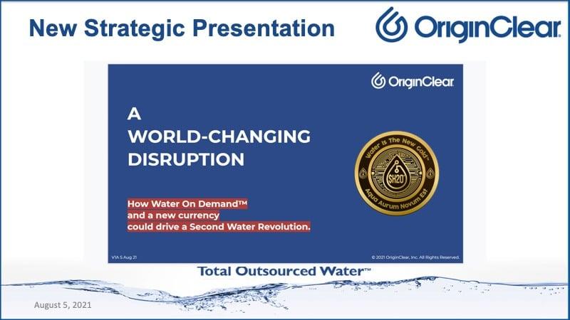 New strategic presentation