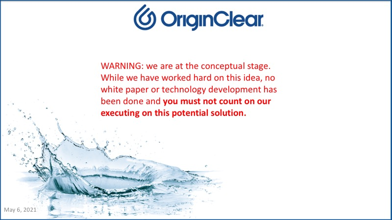 Warning - Disclaimer