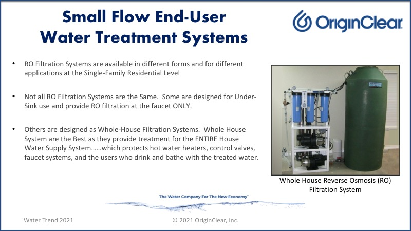 RO - whole house system